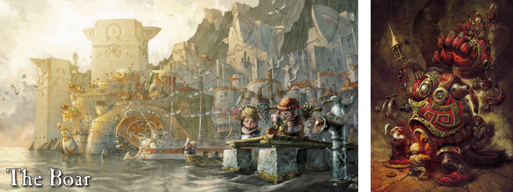 Confrontation Dwarves of Tir-Na-Bor cards army