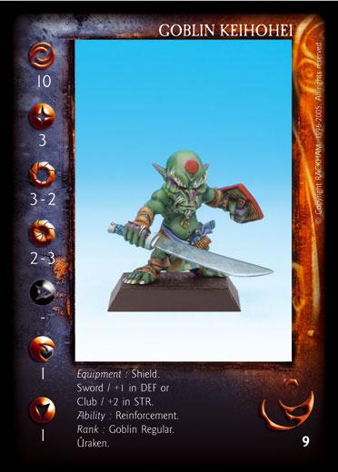 Goblin keihohei Confrontation card (5)
