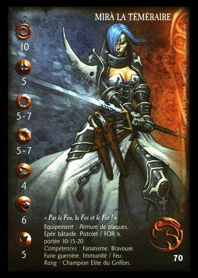 Mira griffin confrontation card