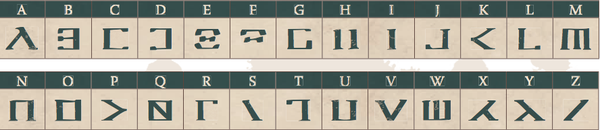 griffins confrontation grifoni alfabeto cards