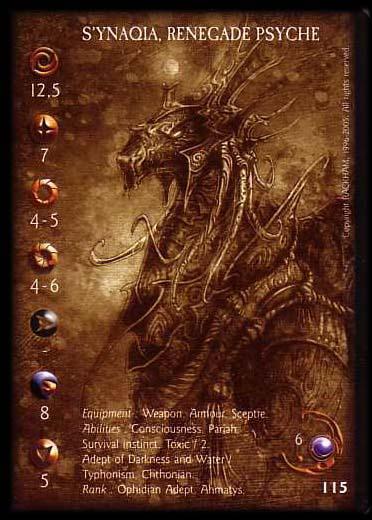Synaquia Confrontation card