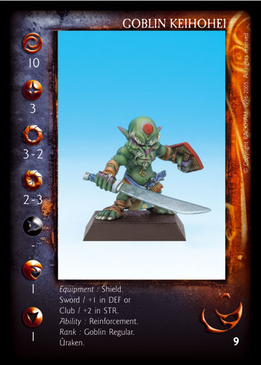 Goblin keihohei Confrontation card (5)